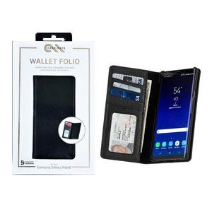 Case-Mate Galaxy Note 10 Leather Folio Wallet Case